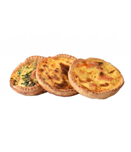 Quiches portion